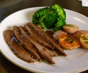 Onion-braised grass-fed beef brisket recipe