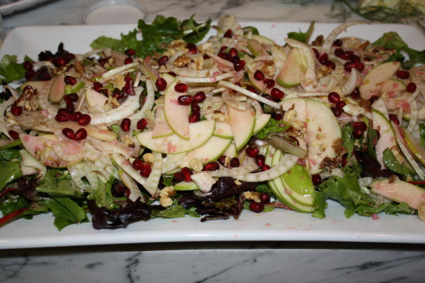 fennel and green apple salad | pamela salzman
