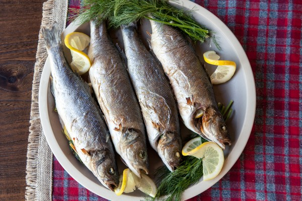 whole roasted branzino | pamela salzman
