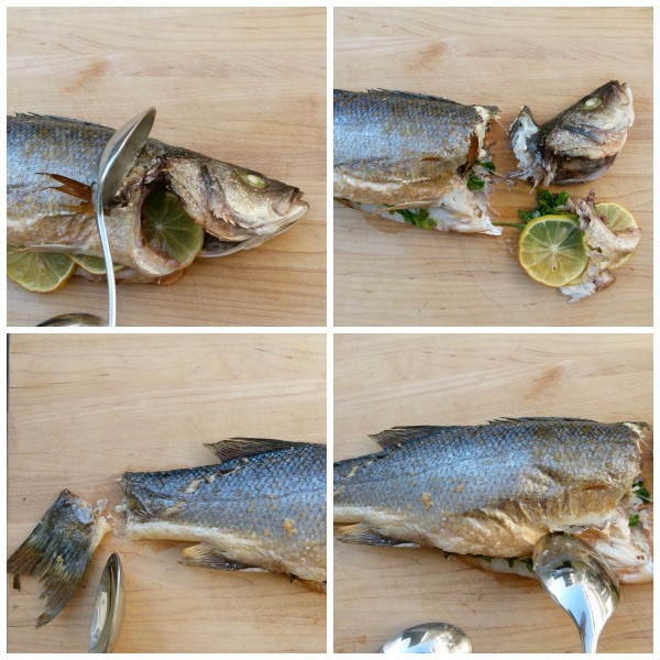 step-by-step deboning a fish
