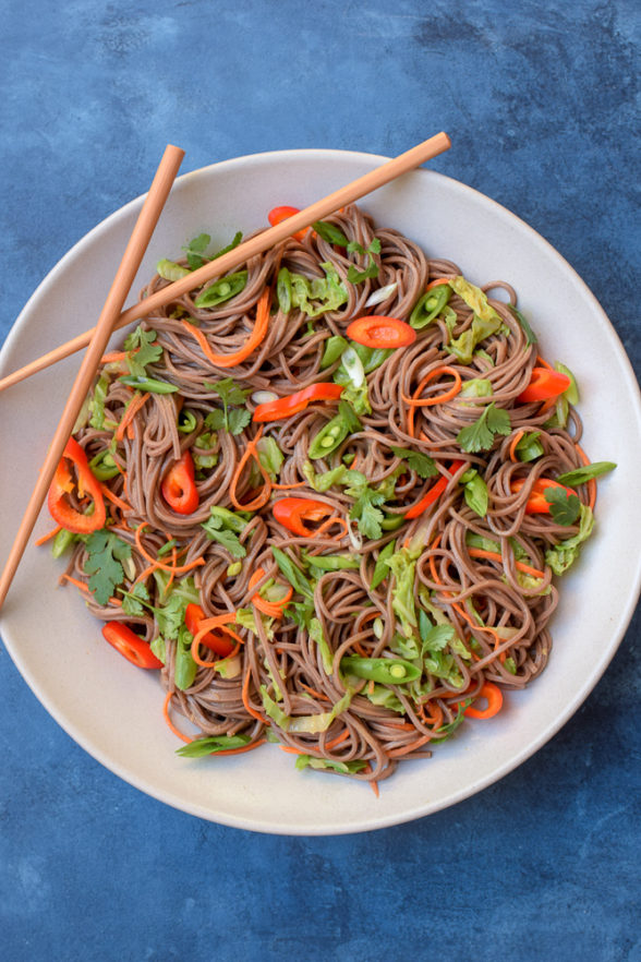Asian Noodle Salad | Pamela Salzman