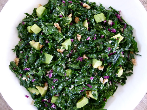 Raw Kale Salad with Citrus Vinaigrette | Pamela Salzman