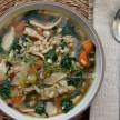 mushroom-barley soup with kale recipe