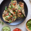 Turkey (or beef or tempeh) tacos recipe
