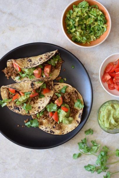 Turkey (or Beef, or Tempeh) Tacos | Pamela Salzman