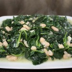 braised greens and beans (collards and cannellinis) recipe