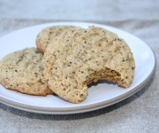 Almond butter and chia seed cookie recipe