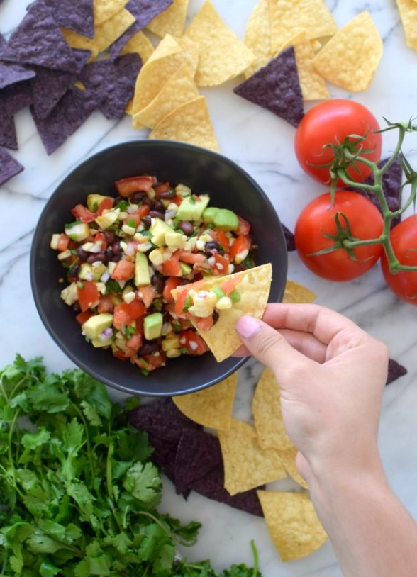 Grilled Corn and Black Bean Salsa | Pamela Salzman