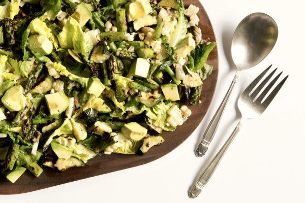 chopped grilled vegetable salad | Pamela Salzman