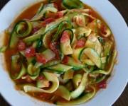"""Zucchini """"pasta"""" recipe"""