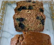 Zucchini-blueberry bread