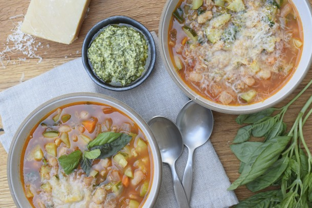late summer minestrone|pamela salzman