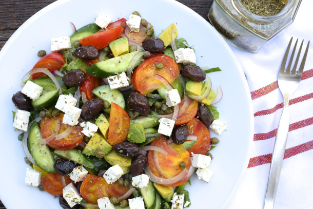 california greek salad|pamela salzman