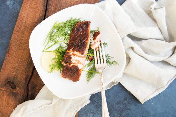 Spice-Rubbed Salmon | Pamela Salzman