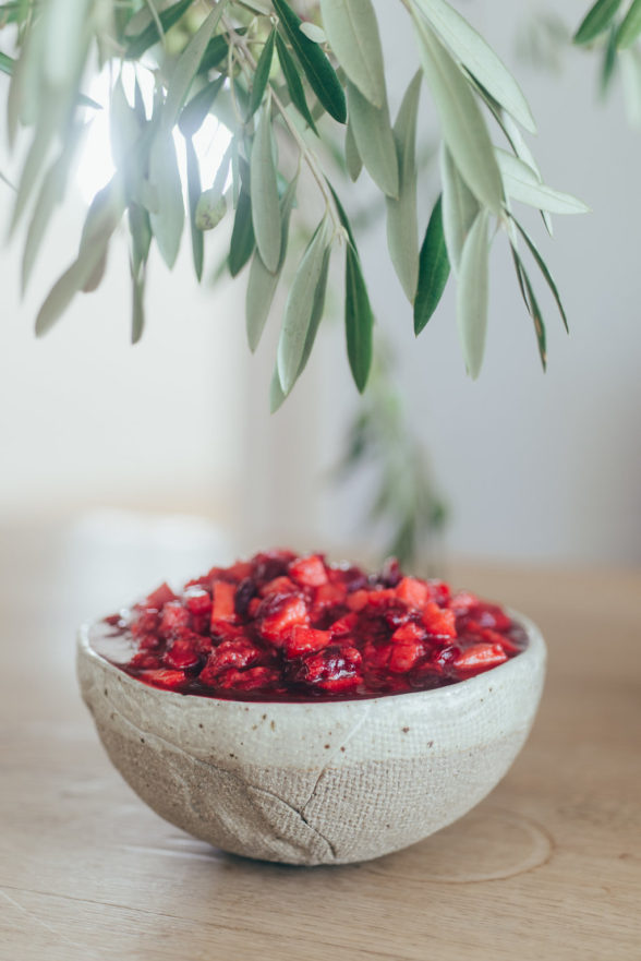 Cranberry Sauce with Apples and Raspberries | Pamela Salzman