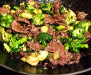 Stir-fried Grass-fed Beef and Broccoli