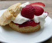 Low-Sugar Strawberry Shortcake Recipe