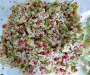 Grain-Free Cauliflower Tabbouleh Recipe