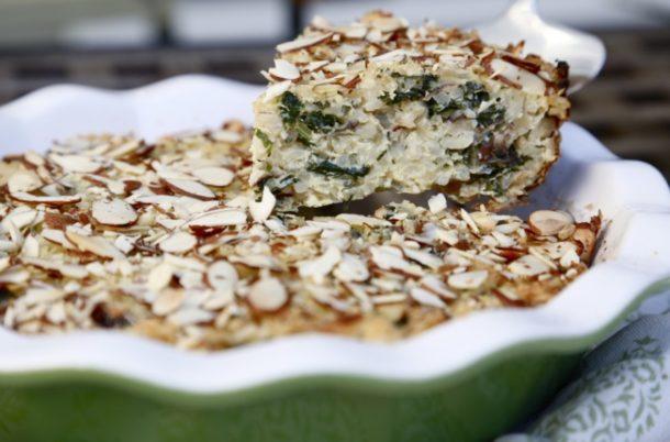 Kale, Mushroom and Brown Rice Bake | Pamela Salzman