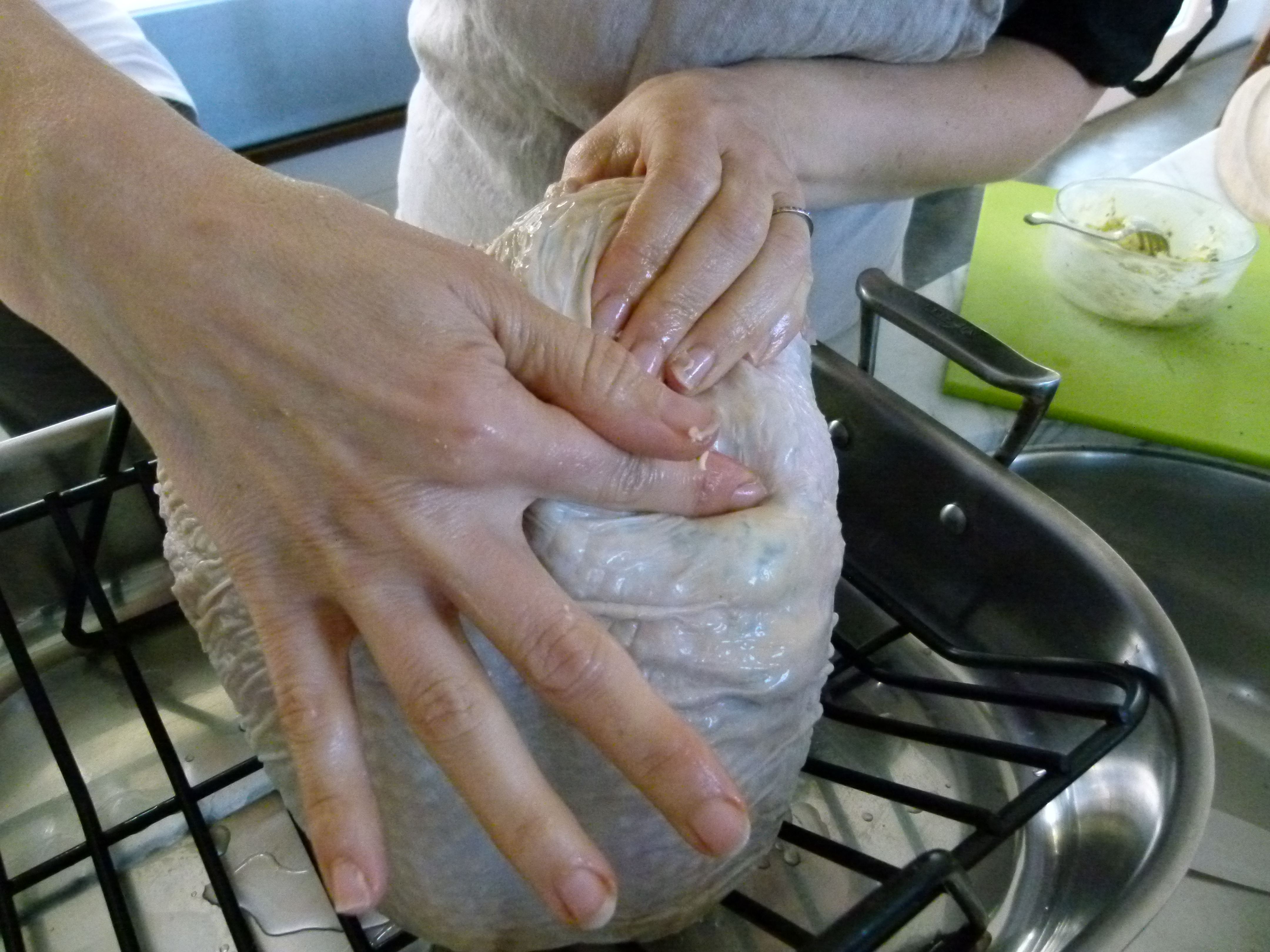 Roasted Whole Bone In Turkey Breast Recipe Pamela Salzman Recipes