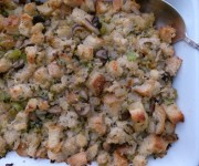 Mushroom and leek stuffing recipe