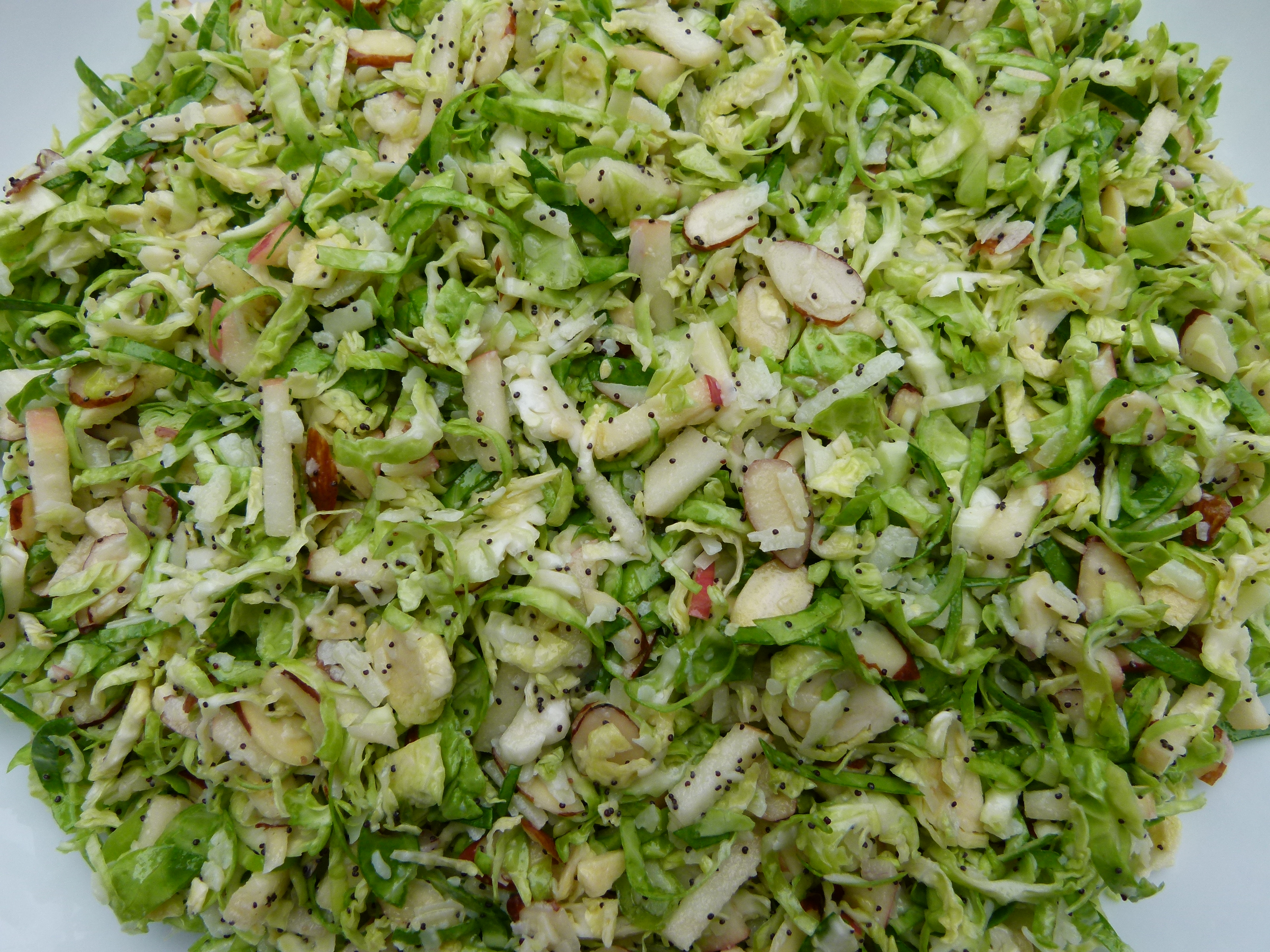 cfdf26f37f85 Raw Brussels Sprout Salad with Poppy Seed Dressing Recipe