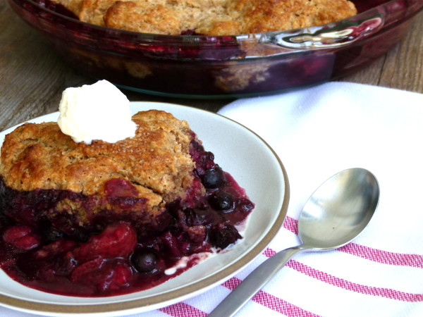 Mixed Berry Cobbler | Pamela Salzman