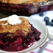 Mixed berry cobbler recipe (slow cooker version, too!)