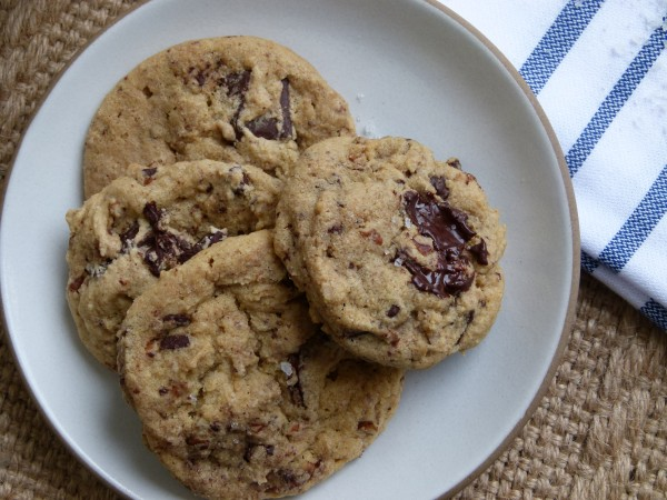 (a more healthful) chocolate chip cookie by Pamela Salzman
