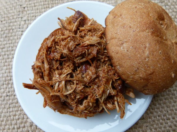 shredded bbq chicken | pamela salzman