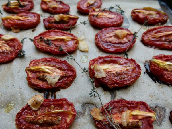 slow roasted tomatoes | pamela salzman