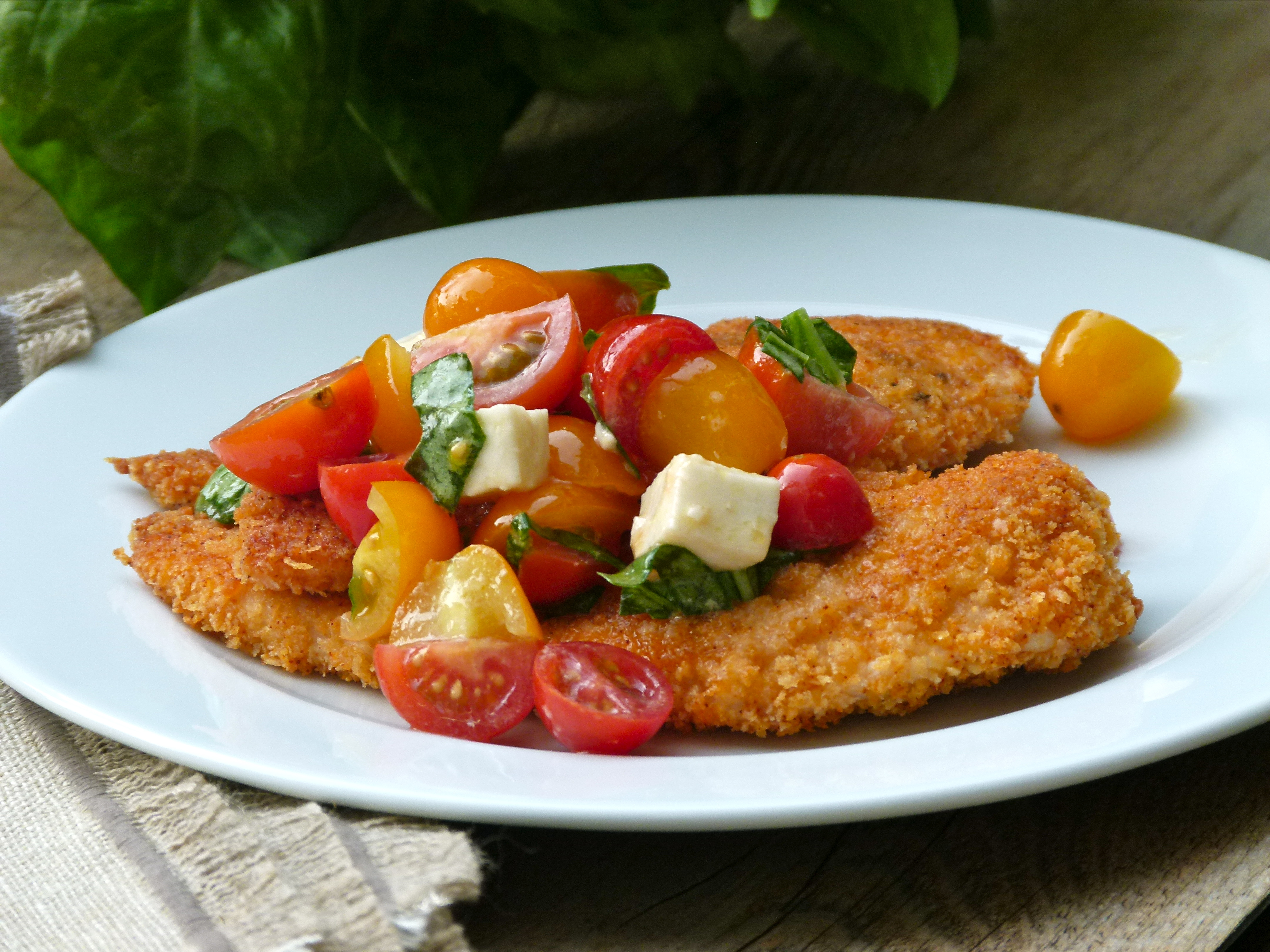 Baked parmesan chicken caprese recipe pamela salzman recipes speaking forumfinder Images