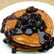 blueberry sauce recipe (refined sugar-free)