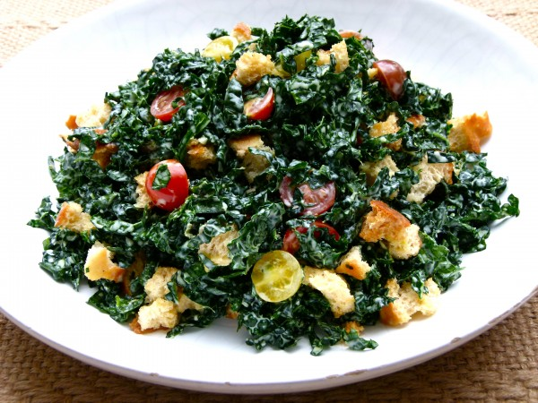 Kale Salad with Creamy Lemon Dressing | Pamela Salzman