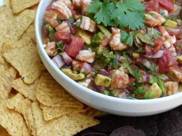 shrimp salsa | pamela salzman