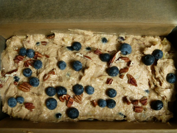 sprinkle some blueberries and nuts on top too