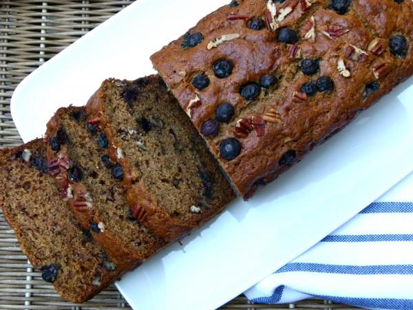 blueberry-banana bread | pamela salzman