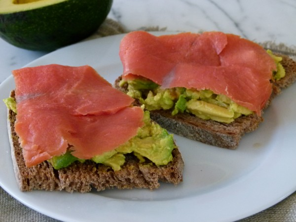 Avocado with Wild Smoked Salmon