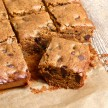 Almond Butter-Millet Blondies Recipe (gluten-free)