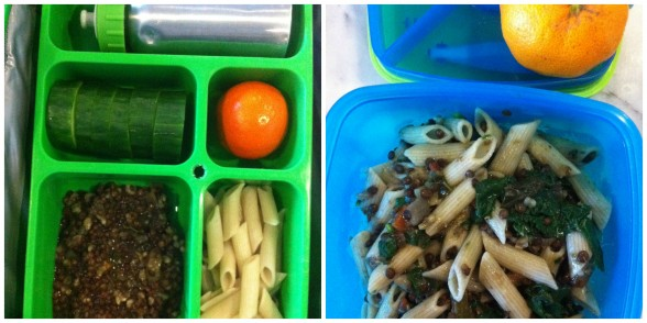 leftover lentils two ways