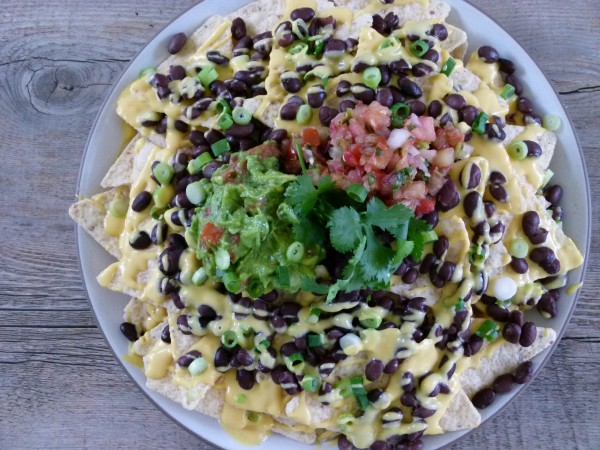 vegan nachos | pamela salzman