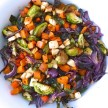 Maple-mustard roasted vegetables recipe