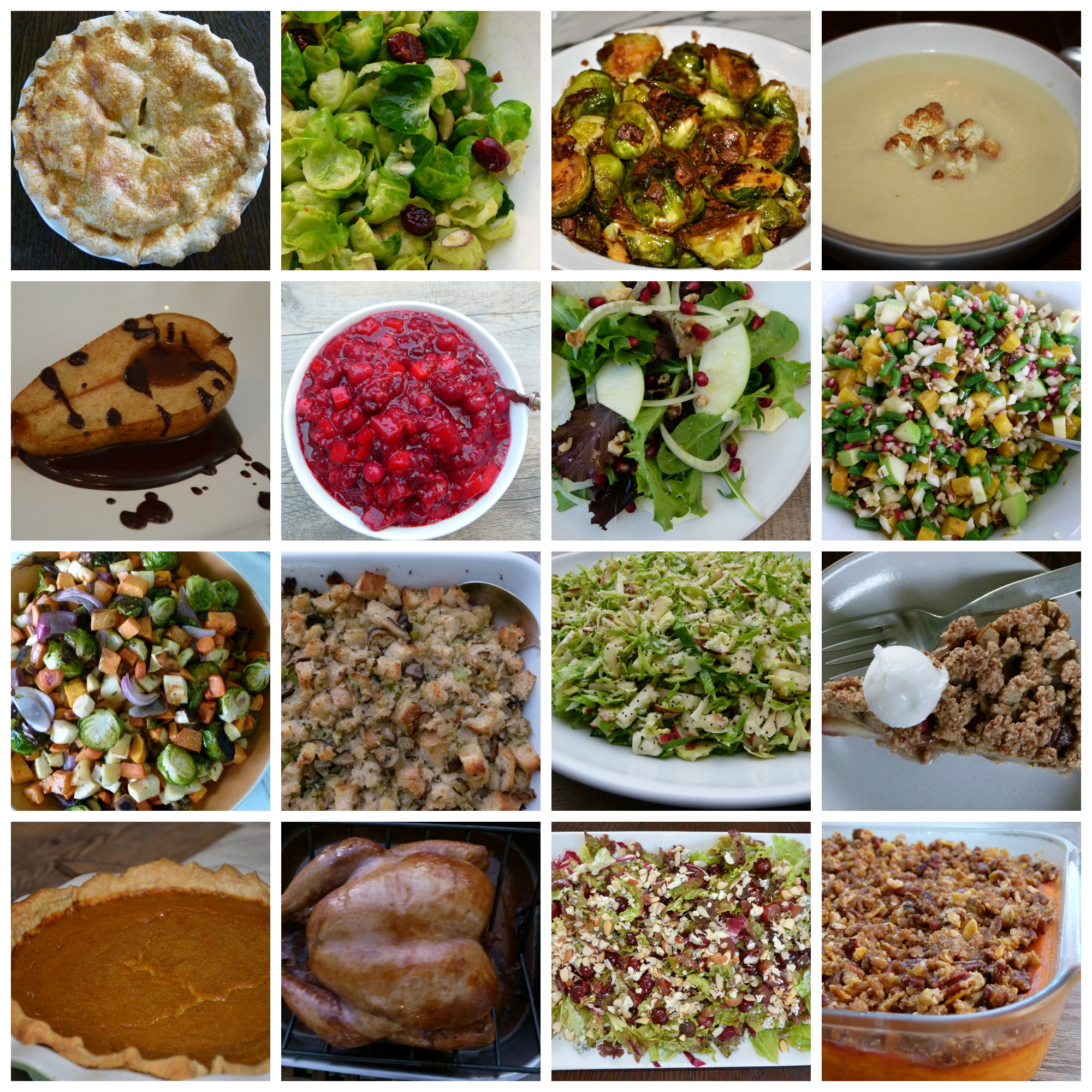 Thanksgiving 2015 Menu Ideas