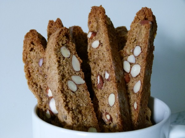 gingerbread biscotti (gluten-free version, too!) | pamela salzman