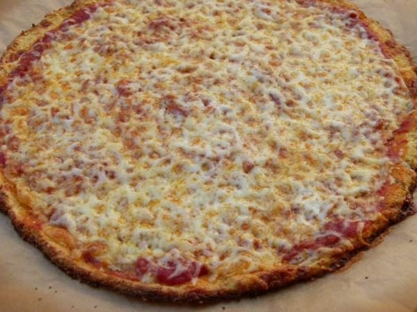 cauliflower crust pizza | pamela salzman