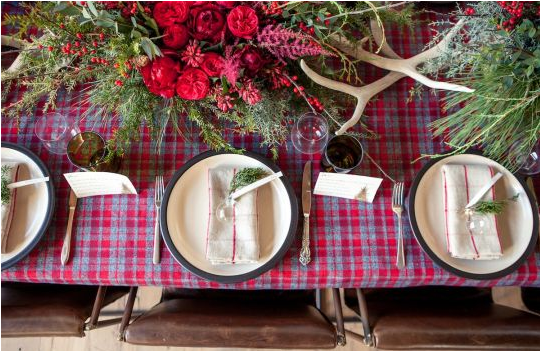 the gorgeous place settings