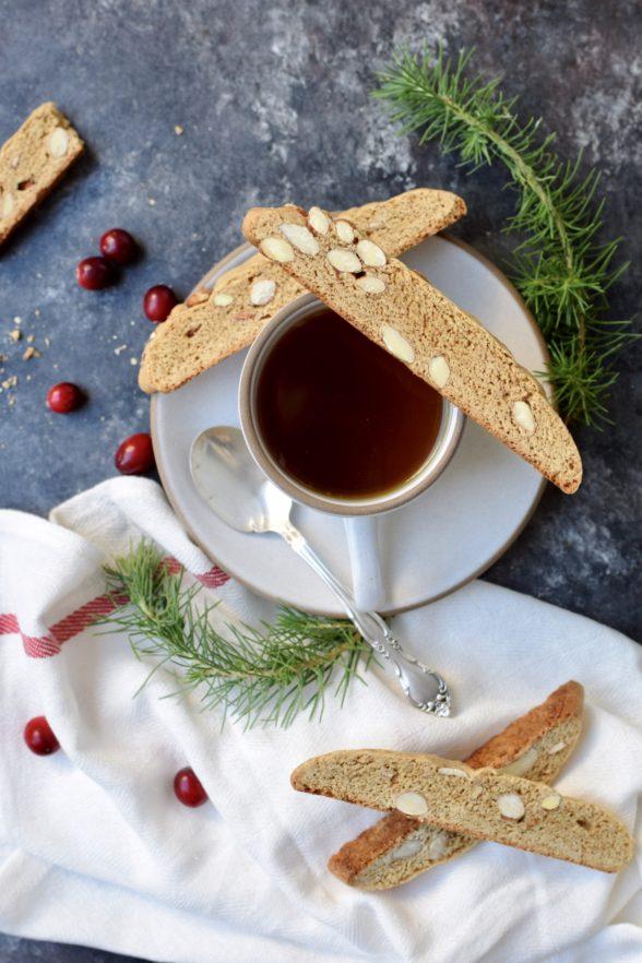 Gingerbread Biscotti | Pamela Salzman