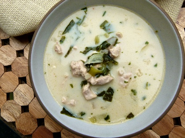 Thai Coconut Chicken Soup | pamela salzman