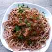 Pasta with Shredded Grass-Fed Brisket Recipe (slow cooker version, too!)
