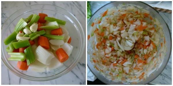 chop veggies